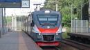 Электропоезд ЭП2Д-0017 ЦППК платформа Алабино 20.06.2019
