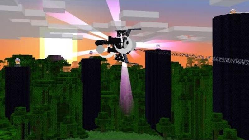 Скрынник смотрит Секретная концовка Minecraft