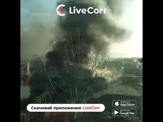 Пожар в Пулково-2