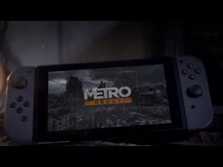 Metro Redux on Nintendo Switch Announce Trailer (Official 4K)