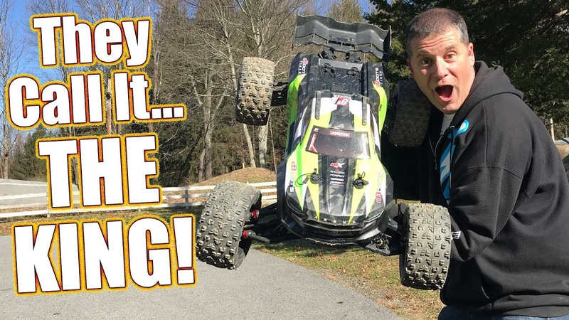 Can YOU Handle THE KING?! Arrma Kraton 8S BLX 1/5th-Scale Electric Truggy Review | RC Driver