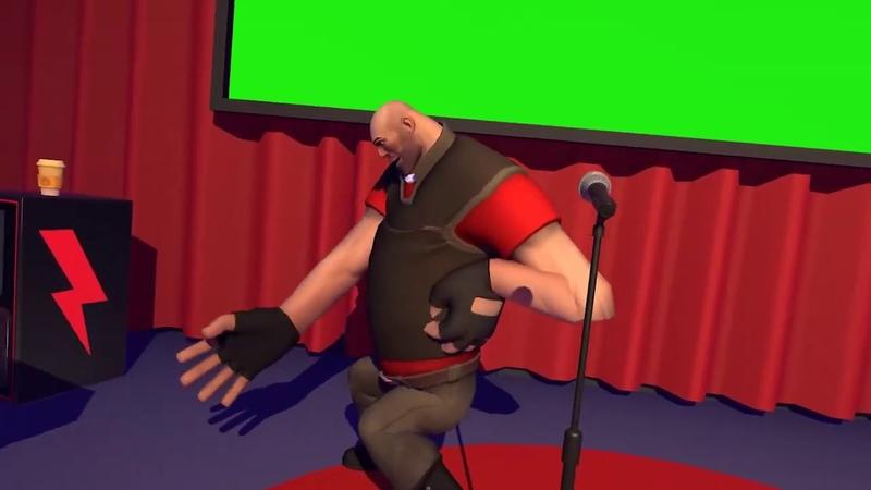 Heavy has a mental breakdown green screen (ORIGINAL)