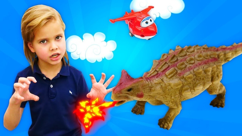 Динозавры Коллекта Collecta  Большая распаковка игрушек Как оживить динозавров Легко