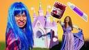 Прикольные видео с Принцессами Диснея – Волшебная зубная паста! – Весёлые игры для детей.