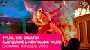 Tyler The Creator Earfquake New Magic Wand LIVE GRAMMY AWARDS
