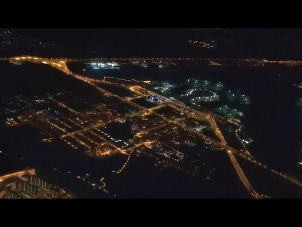 Взлет с разворотом над Внуково A319 Авиакомпания Россия Рейс в Питер Пулково