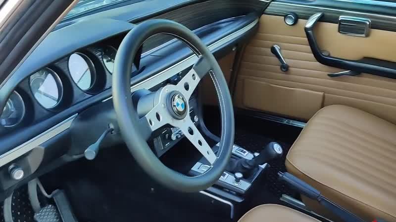 BMW E9 CSi interior/1973.