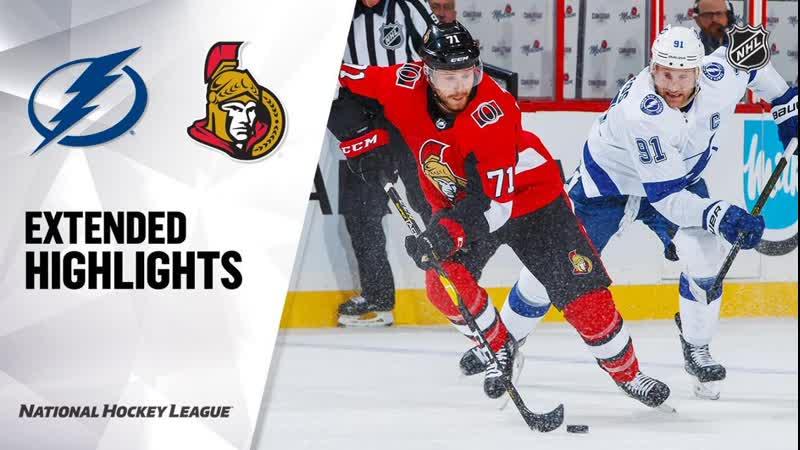 Tampa Bay Lightning vs Ottawa Senators Oct 12, 2019 HIGHLIGHTS HD