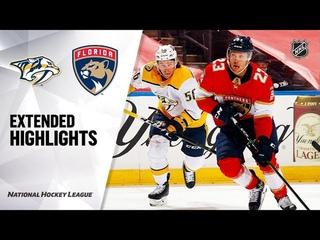 Nashville Predators vs Florida Panthers   , 2021   Game Highlights   NHL 2021   Обзор матча