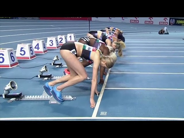 Women's 60m Race at Orlen Copernicus Cup Torun 2020