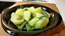 Patatas con judías verdes hervido