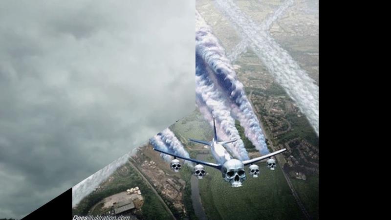 Химтрейлы нас чем то травят сверху Съёмки самолётов без следа на небе