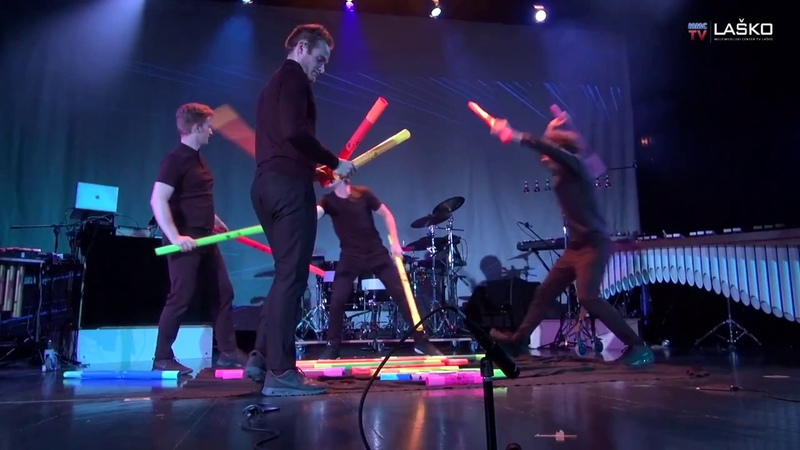 Louie's Cage Percussion - TV Medley Played With Boomwhackers
