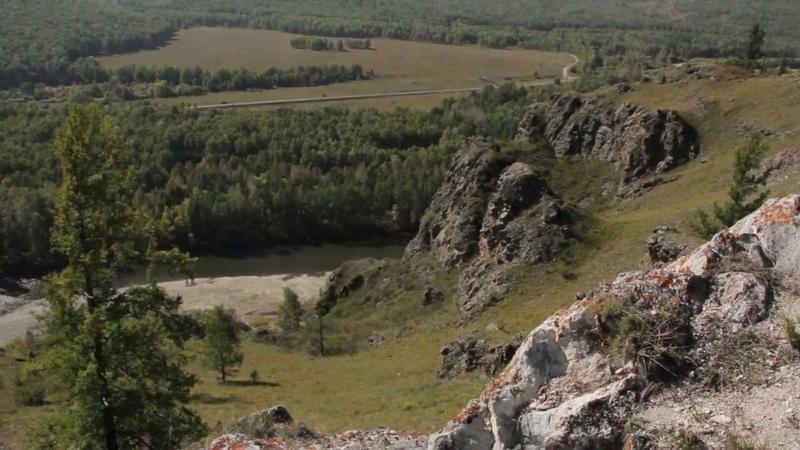 Хакассия.Малая Сыя сентябрь 2012 г.