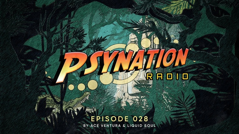 Psy Nation Radio 028 incl Freedom Fighters Mix Ace Ventura Liquid Soul