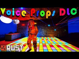 RUST — Voice Props DLC и новая система ранения! [Staging Branch]
