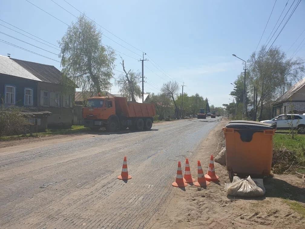 В Петровске проводится плановый ремонт дорожного покрытия