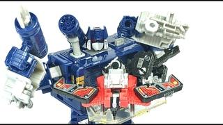 Transformers Netflix Earthrise Soundwave Chefatron Review