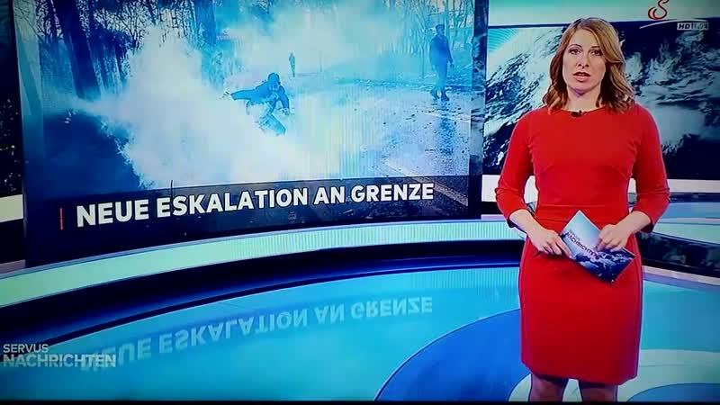 Neue Eskalation Türkische Polizisten schiessen mit Tränengaskranaten auf Griechische Grenzpolizisten