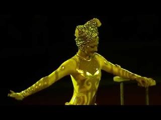 Демидова Анна Эквилибр на тростях Кукла Circus KZ Almaty