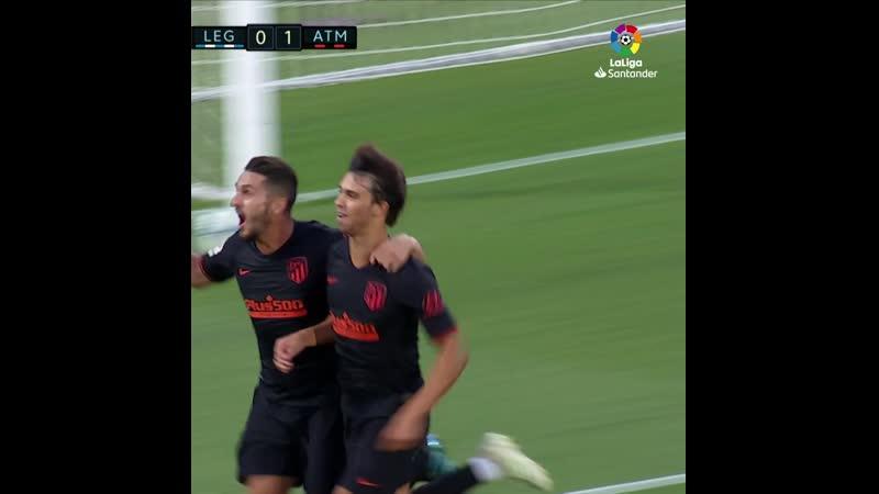 Леганес 0:1 Атлетико Мадрид
