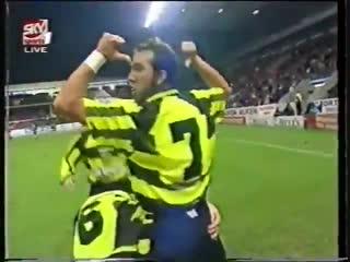 "Паоло Ди Канио (""Селтик"") - мяч в ворота ""Абердина"""