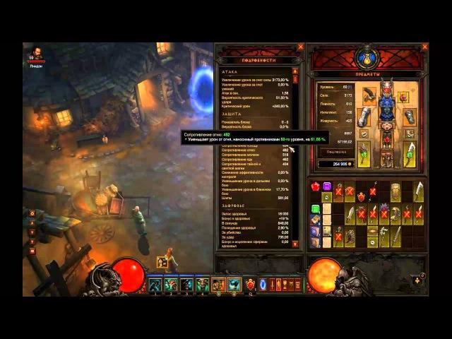 Diablo 3 Билд на варвара Ярость БочкаЭля