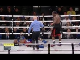 Charles Conwell knocks out Patrick Day VICIOUS KO +3 slo mo's