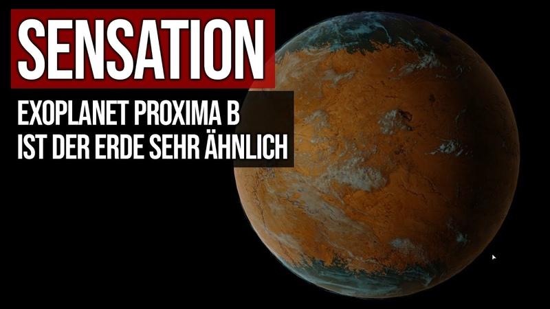 Sensation Exoplanet Proxima b ist der Erde sehr ähnlich