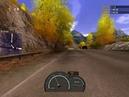 NFS Hot Pursuit 2 (2002) - NFS Mersedes-Benz CL55 AMG (Дорога в Альпах, зеркало вперед)