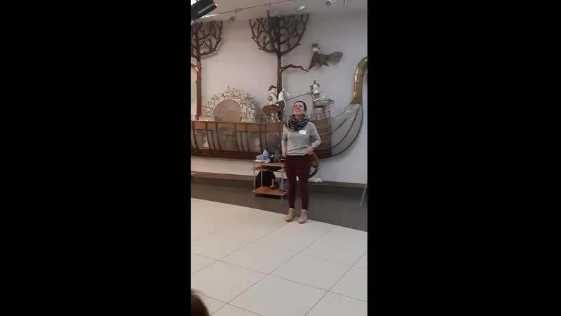 От топота копыт!) Упражнение на высокую энергетику речи. Тренинг Харизматичный оратор, Петрозаводск, 16.09.19