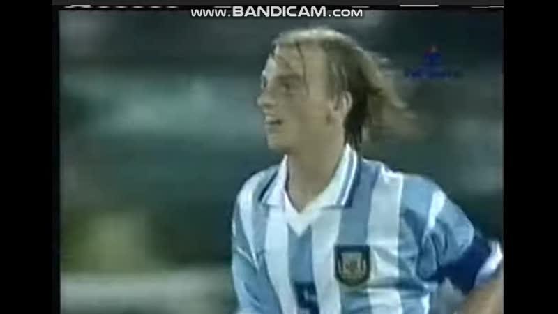 Аргентина Казахстан МЧМ 1999 год гол Камбьяссо