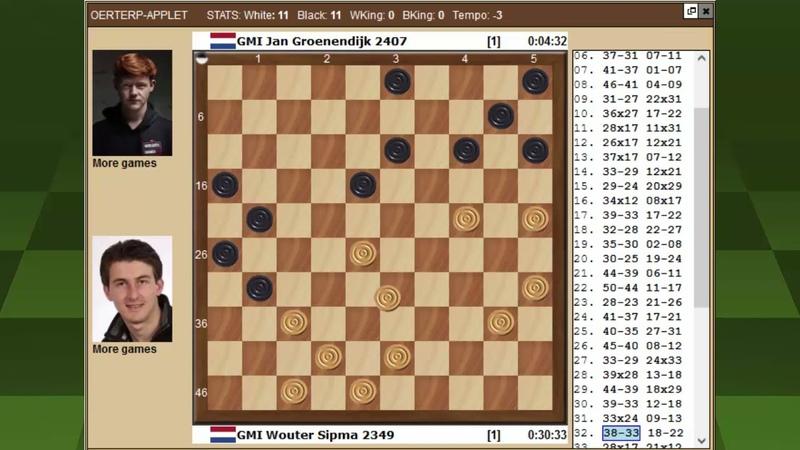 Сипма Грунендейк Чемпионат Мира по международным шашкам 2021
