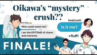 guesses Oikawa's crush!? 3/3 (IwaOi text story)