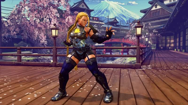 Street Fighter 5 - Cammy (Blair Dame) new skin