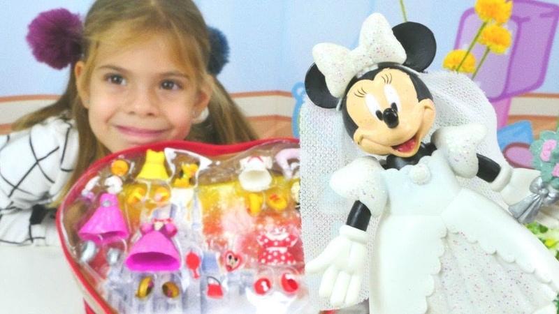 Minnie Mouse ile en popüler çocuk videoları. Çizgi film oyuncakları