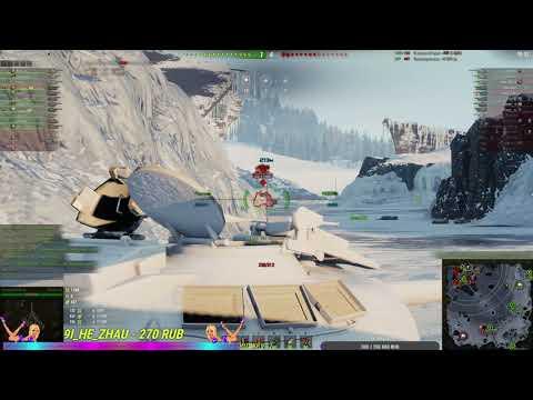 World of Tanks хороший бой на бабахи