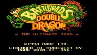 Battletoads & Double Dragon: The Ultimate Team. NES No Death Walkthrough / Прохождение без смертей