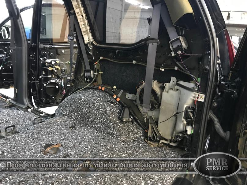 Комплексная шумоизоляция Toyota Land Cruiser 120, изображение №17