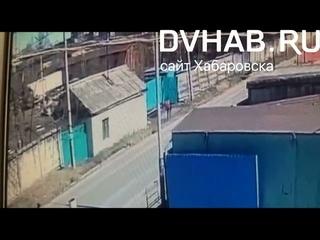 Нервы ни к черту: мальчик из Хабаровска угодил в ДТП