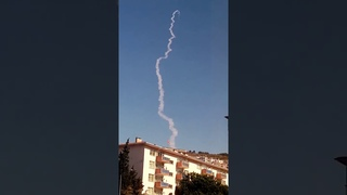 S-400 Air Defense Missile Launched in Sinop/Turkey