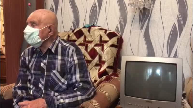 Александр Алексеевич Тишков труженик тыла