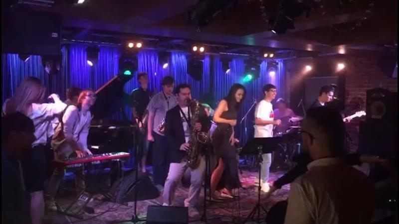 Kozlovclub jazz fashion funky antonkotikovsax @ahshamusic @valerastepanov