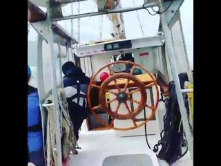 Тренировка учащихся Литовской морской академии на паруснике BRABANDER! ⛵⛵⛵