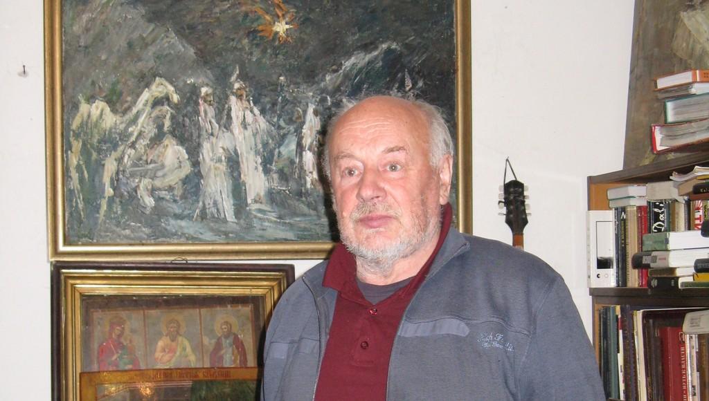В Кимрском районе умер художник Владимир Владимирович Маслов