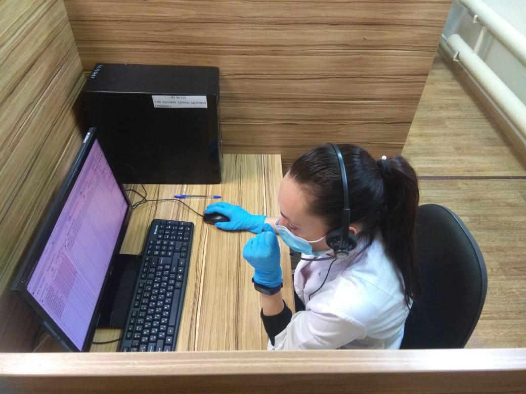 В десять раз выросло количество звонков ярославцев в поликлиники