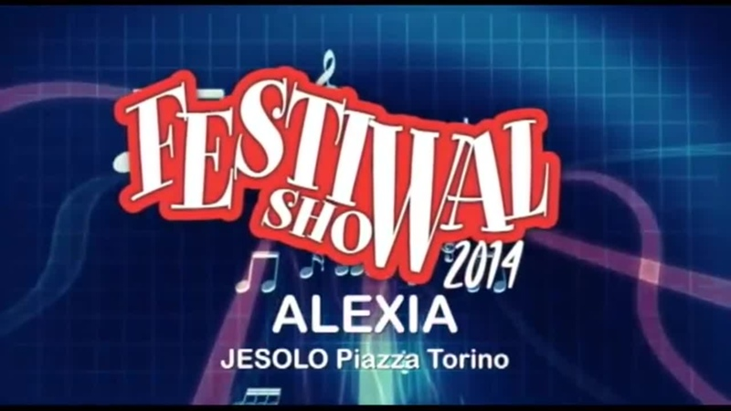 Alexia Medley 90s @ Festival Show Jesolo 2014