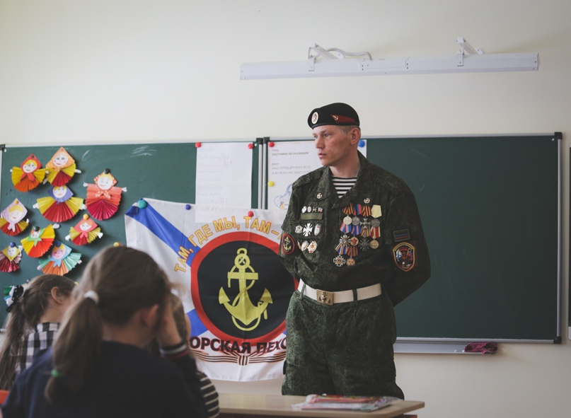 Ветераны морской пехоты провели Урок мужества в Нижнем Новгороде, изображение №10