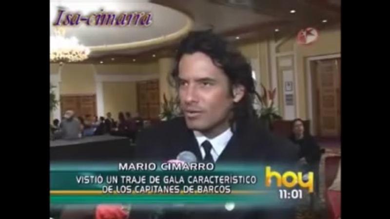 Интервью Марио Симарро Море любви