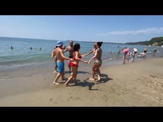 Руэда на пляже. Сальса в Курске. Школа танцев Dance Life